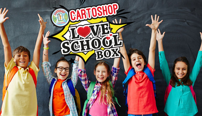 Love school box partito